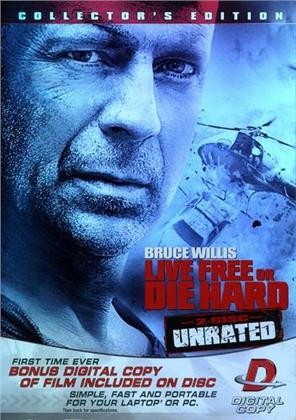 Die Hard 4 - Live Free or Die Hard (2007) (Collector's Edition, Unrated, 2 DVDs)