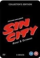 Sin City - (Recut & Extended Steelbook Edition 2 DVD) (2005)