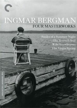 Ingmar Bergman: Four Masterworks (Criterion Collection, 4 DVDs)