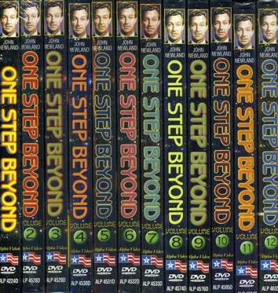 One Step Beyond (s/w, 12 DVDs)