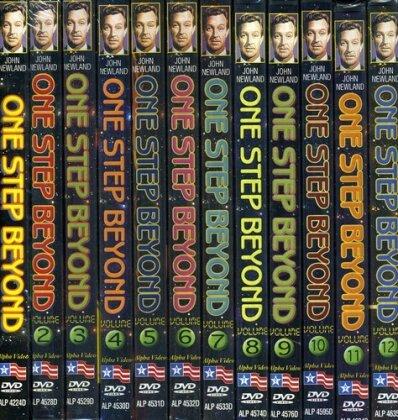 One Step Beyond (b/w, 12 DVDs)