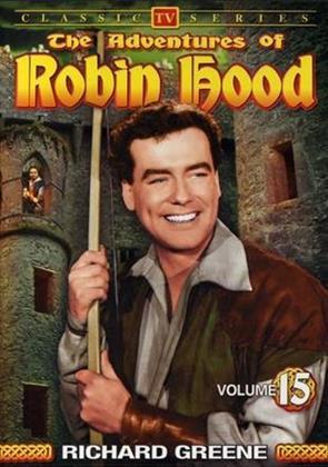The Adventures of Robin Hood - Vol. 1-15 (s/w, 15 DVDs)