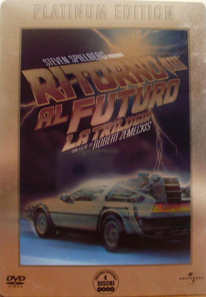 Ritorno al futuro - La trilogia (Platinum Edition, Steelbook, 4 DVDs)