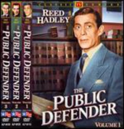 The Public Defender - Vol. 1-3 (s/w, 3 DVDs)