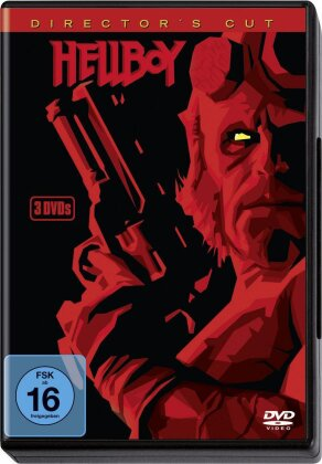Hellboy (2004) (Director's Cut, 3 DVDs)