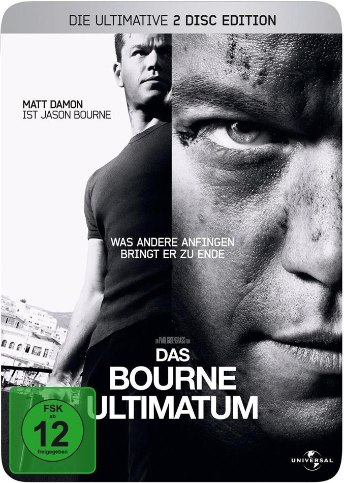 Das Bourne Ultimatum (2007) (Steelbook, 2 DVD)