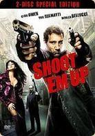 Shoot 'em up (2007) (Limited Edition, Steelbook, 2 DVDs)
