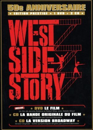 West Side Story - (Jubiläums Edition DVD + 2 CDs) (1961)