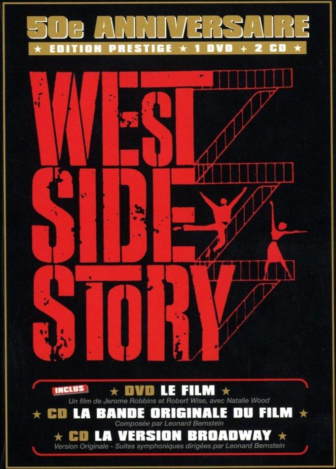 West Side Story - (Jubiläums Edition DVD + 2 CDs) (1961)