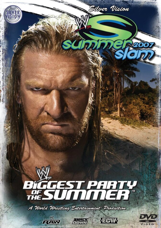 WWE. Summerslam 2007 - The biggest Party of the Summer