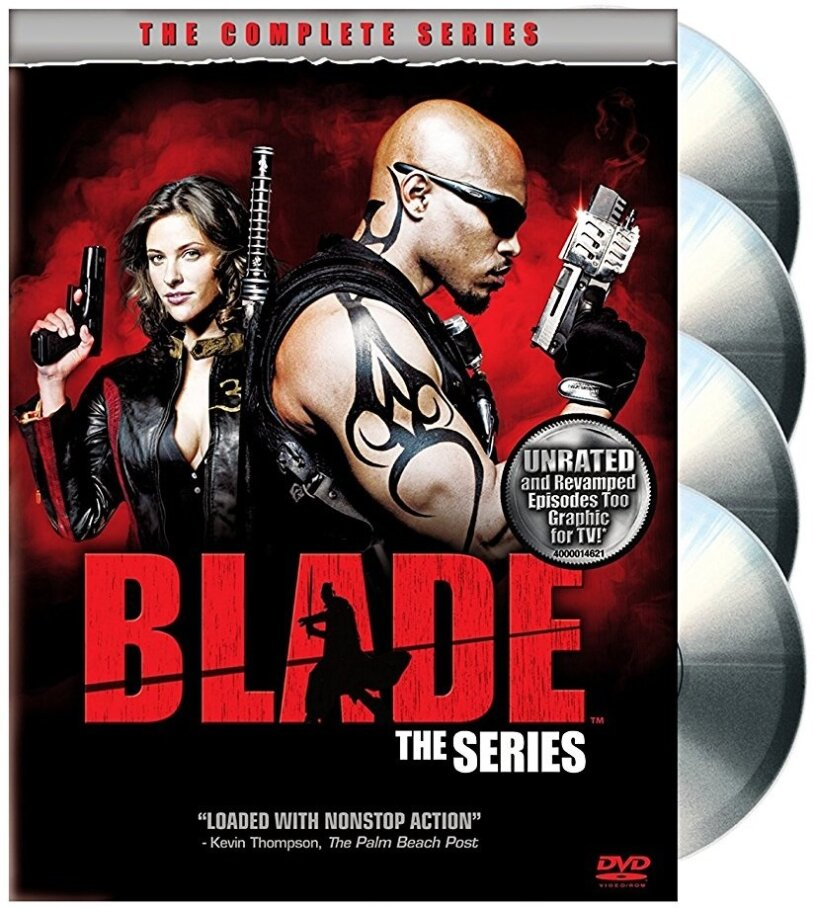 Blade: The Series - Season 1 (Unrated, 4 DVDs)