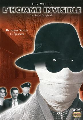 L'homme invisible - Saison 2 (1958) (s/w, 4 DVDs)
