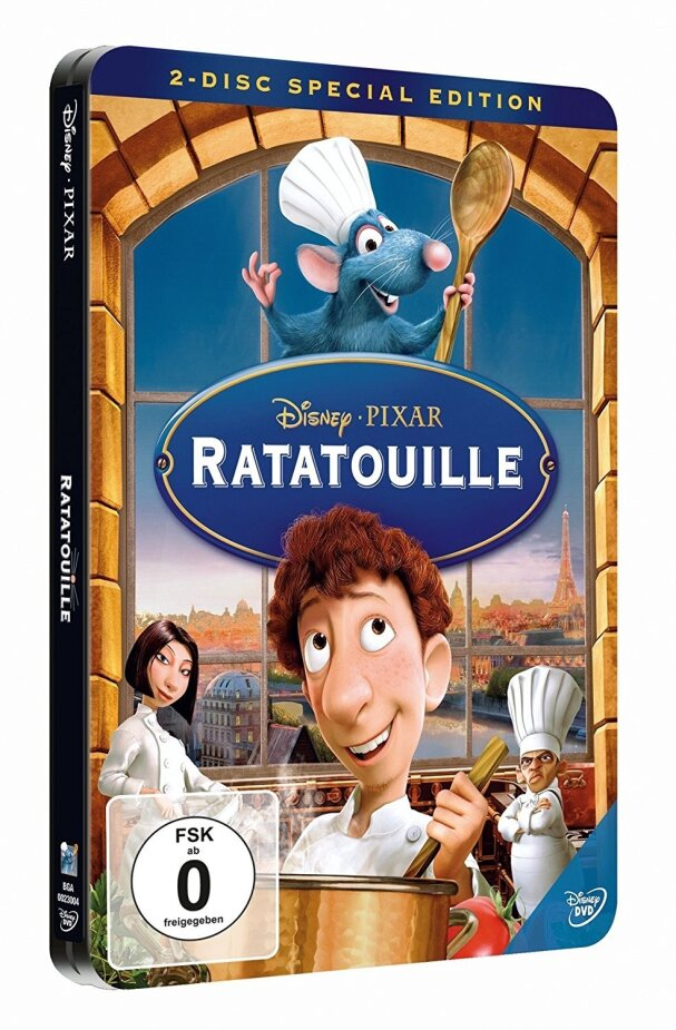 Ratatouille (2007) (Special Edition, Steelbook, 2 DVDs)