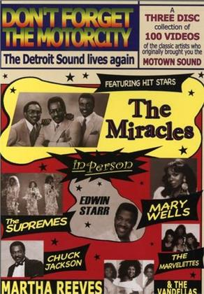 Various Artists - Don't Forget Motor City / Various (3 DVDs)