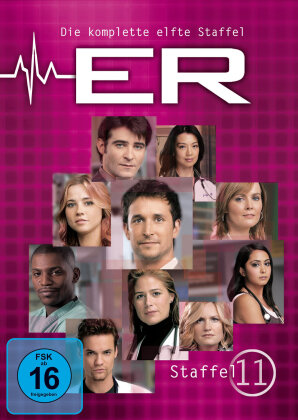 ER - Emergency Room - Staffel 11 (6 DVDs)