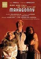 Los Angeles Opera Orchestra, James Conlon, … - Weill - Aufstieg und Fall der Stadt Mahagonny (Euro Arts)