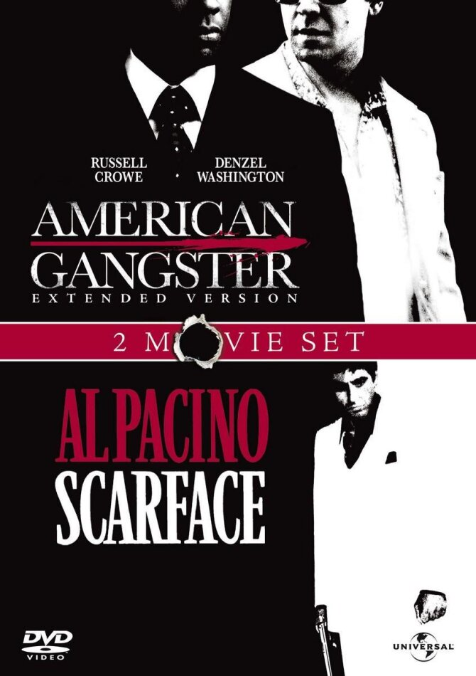 American Gangster (2007) (Extended Edition, 2 DVDs)