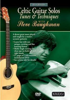 Baughman Steve - Celtic Guitar Solos - Tunes and Techniques