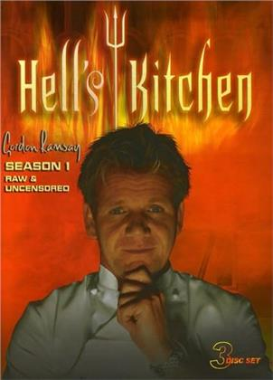 Hell's Kitchen - Season 1 (Raw & Uncensored 3 DVDs)
