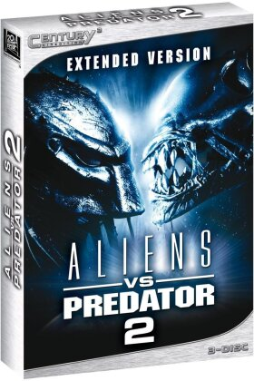 Aliens vs. Predator 2 - (Century3 Cinedition / Extended Version 3 DVDs) (2007)