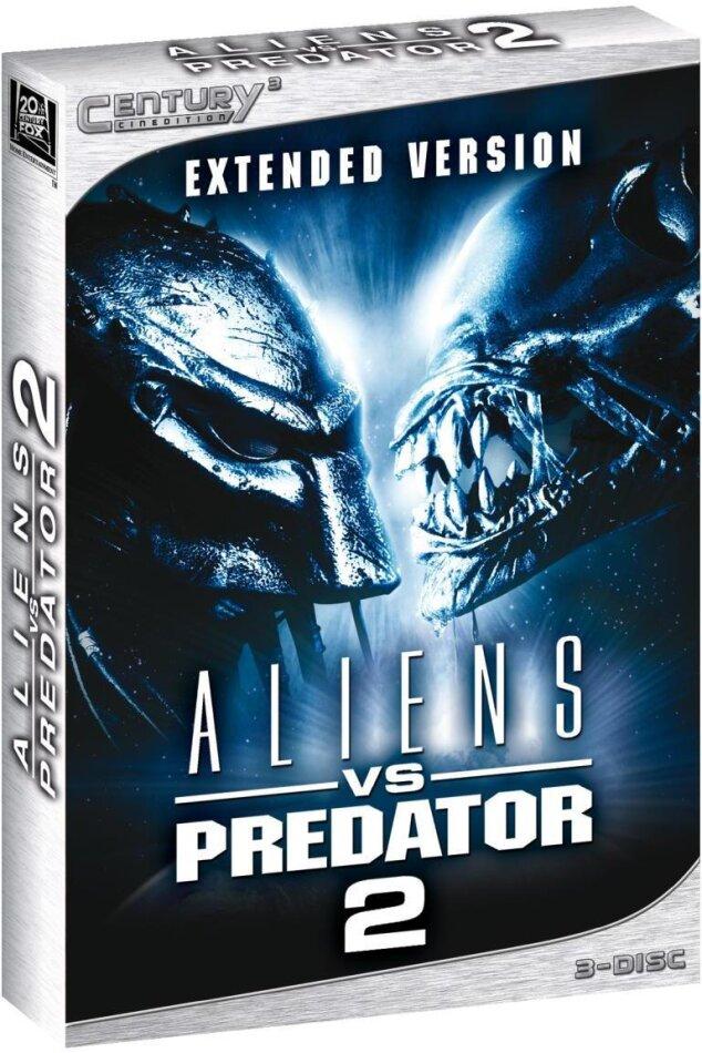 Aliens vs. Predator 2 - (Century3 Cinedition / Extended Version 3 DVDs) (2007)