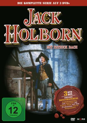 Jack Holborn (Box, Collector's Edition, 3 DVDs)