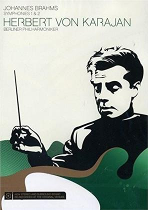 Berliner Philharmoniker & Herbert von Karajan - Brahms - Symphonies Nos. 1 & 2 (Sony Classical, Neuauflage)