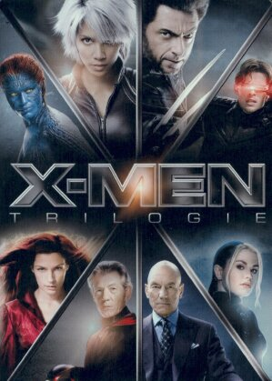 X-Men Trilogie (Limited Edition, Steelbook, 3 DVDs)