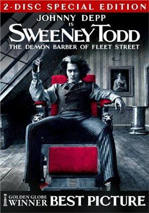 Sweeney Todd: The Demon Barber of Fleet Street (2007) (Collector's Edition, 2 DVD)