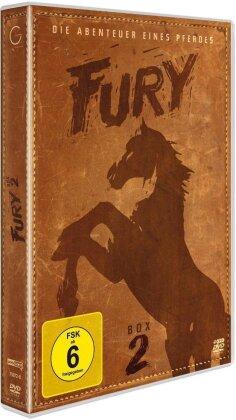 Fury - Staffel 2 - Die Abenteuer eines Pferdes (s/w, 4 DVDs)