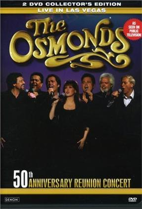 The Osmonds - 50th anniversary reunion concert (Collector's Edition, 2 DVDs)