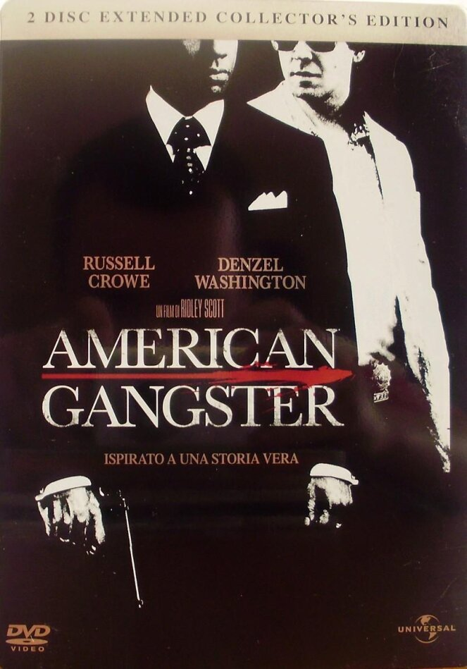 American Gangster - (Conf. Metallica) (2007) (Extended Cut, 2 DVD)