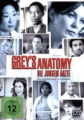 Grey's Anatomy - Staffel 2 (8 DVDs)