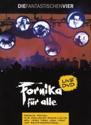 Die Fantastischen Vier - Fornika für alle (Premium Edition, 2 DVDs + CD)