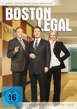Boston Legal - Staffel 3 (6 DVD)
