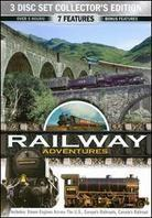 Railroads Adventures (Collector's Edition, 3 DVDs)