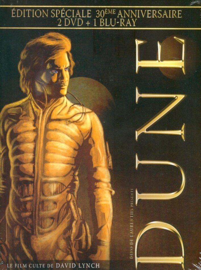 Dune (1984) (30th Anniversary Special Edition, Blu-ray + 2 DVDs)