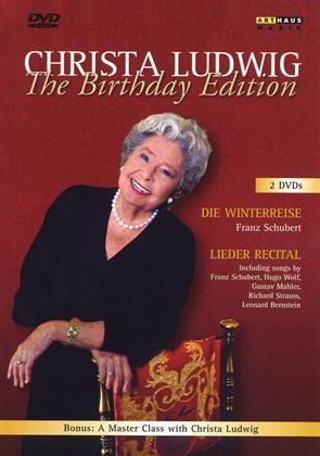 Christa Ludwig - Schubert - Winterreise (2 DVDs - Birthday Edition) (Arthaus Musik)