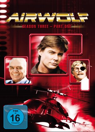 Airwolf - Staffel 3.1 (3 DVDs)