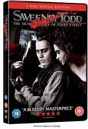 Sweeney Todd - The Demon Barber of Fleet Street (2007) (2 DVDs)