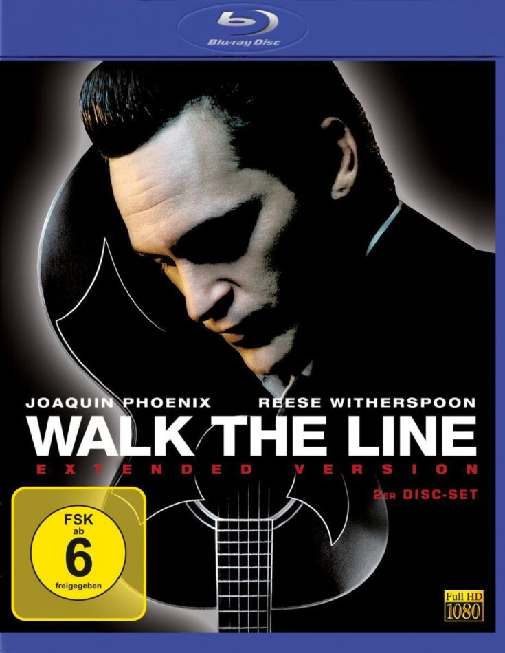 Walk the line (2005) (Extended Edition, 2 Blu-rays)