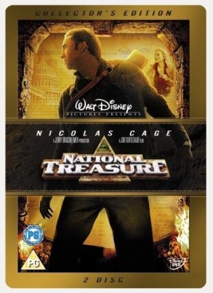 National Treasure (2004) (Collector's Edition, Steelbook, 2 DVDs)