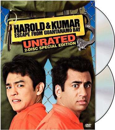 Harold & Kumar Escape from Guantanamo Bay (2008) (Special Edition, Unrated, 2 DVDs)