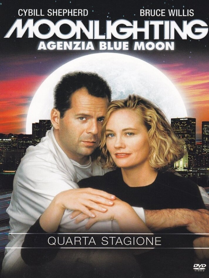 Moonlighting - Agenzia Blue Moon - Stagione 4 (4 DVDs)