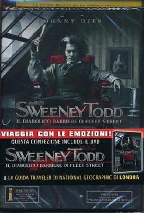 Sweeney Todd (2007) + Guida National Geographic Londra (2007) (DVD + Buch)