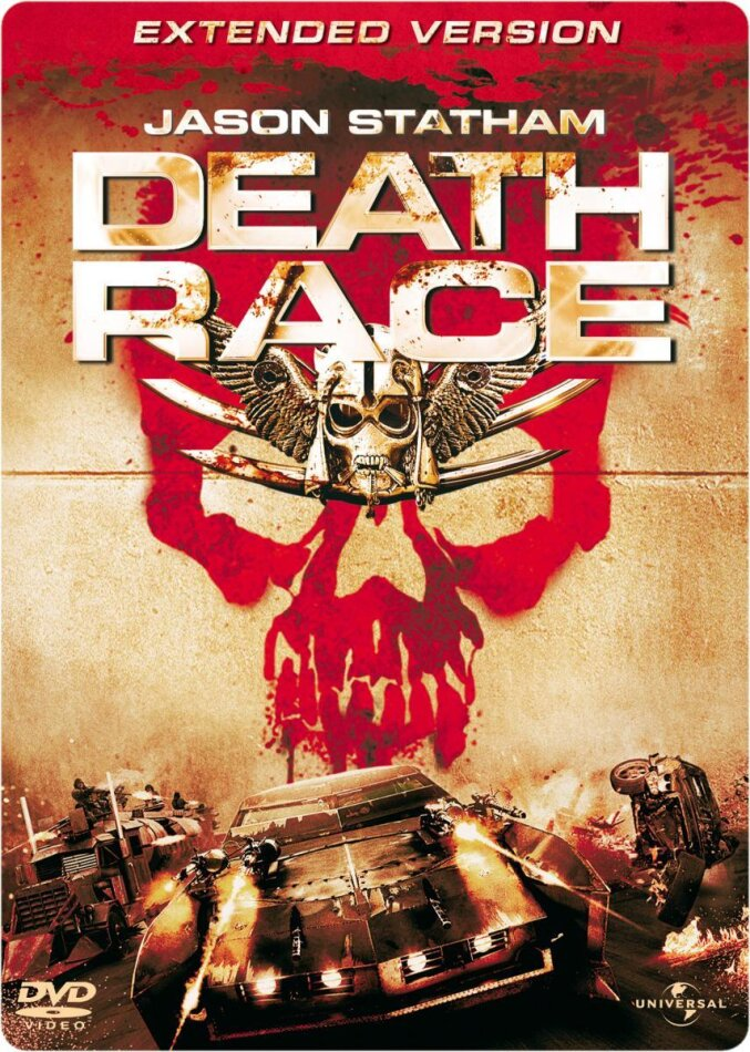 Death Race (2008) (Extended Edition, Steelbook)