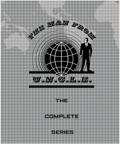 The Man from U.N.C.L.E. - The Complete Series (s/w, 41 DVDs)