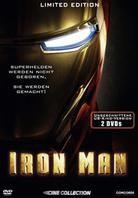 Iron Man (2008) - (Ungeschnittene US-Kinoversion) (2008) (Limited Edition, Steelbook, 2 DVDs)