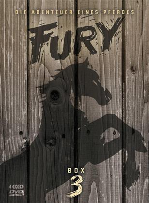 Fury - Staffel 3 - Die Abenteuer eines Pferdes (s/w, 4 DVDs)