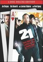 21 (2008) (Deluxe Edition, 2 DVDs)